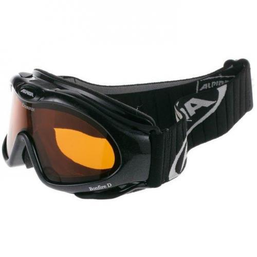 Alpina BONFIRE D Skibrille black