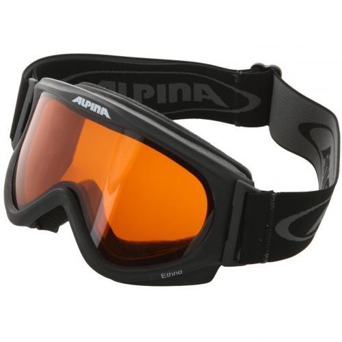 Alpina Ethno Skibrille Schwarz