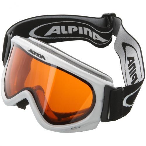 Alpina Ethno Skibrille Silber