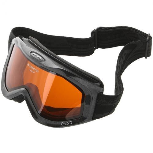 Alpina Grap D Skibrille Black