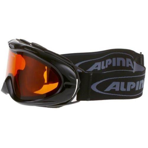 Alpina OPTICVISION Skibrille black