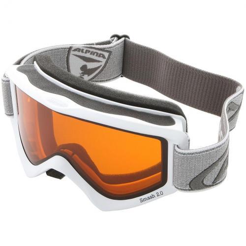 Alpina Smash 2.0 Skibrille White
