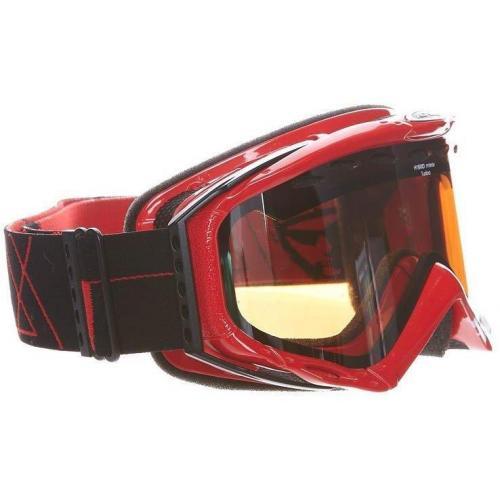 Alpina TURBO Skibrille red pop