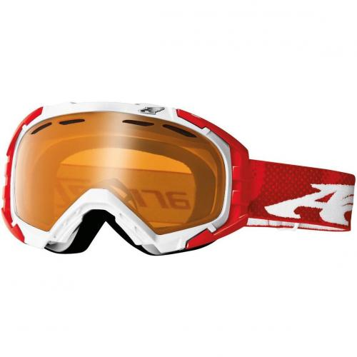 Arnette Mercenary polished white/red zine Orange Shade
