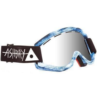 Ashbury Kaleidoscope Goggle inkl Bonus Glas blue acid wash