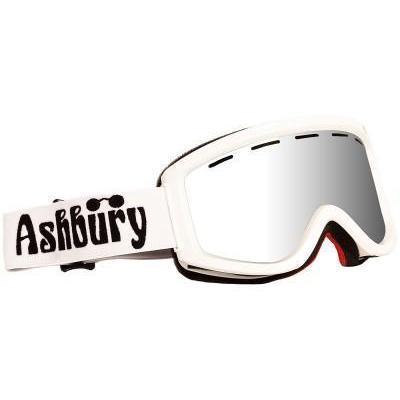 Ashbury Warlock Goggle inkl Bonus Glas white