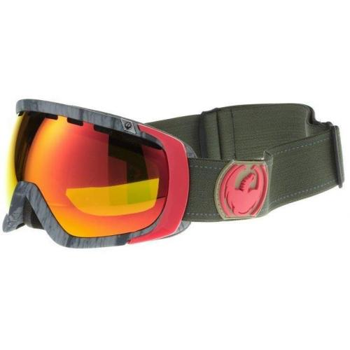 Dragon Alliance ROGUE Skibrille rot
