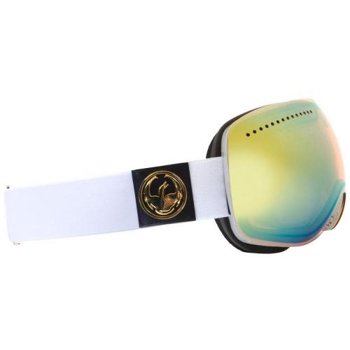 Dragon APX White Yellowblue Shade
