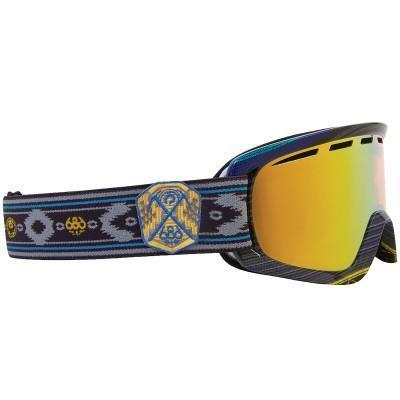 Dragon D2 686 Collab Goggle inkl Bonus Glas gold ionized