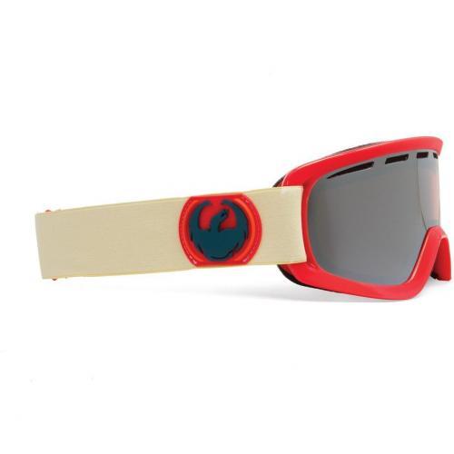 Dragon D2 Bonus Lens Beige Red
