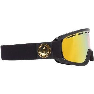 Dragon D2 Jet Goggle inkl Bonus Glas gold ionized