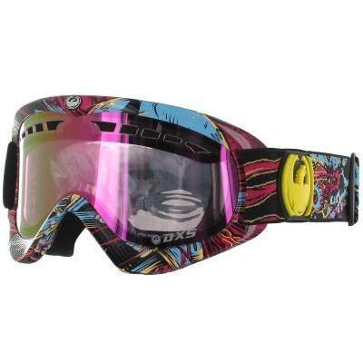 Dragon DXS Pink Migraine Goggle pink ionized