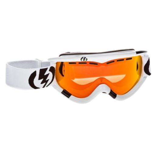 Electric EG1 Gloss White Orange Transparent Shade