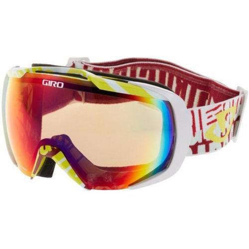Giro ONSET Skibrille weiß/amber scarlet