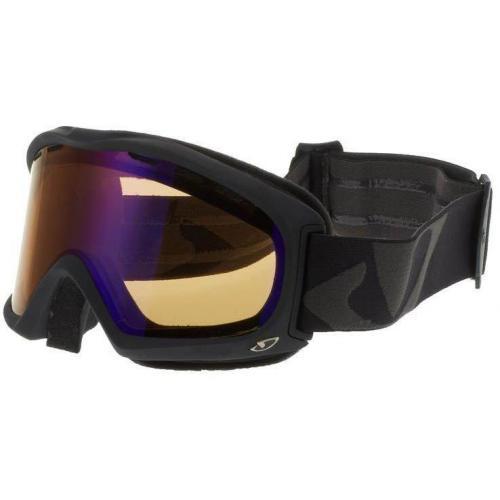 Giro SIGNAL Skibrille schwarz matt/amber scarlett