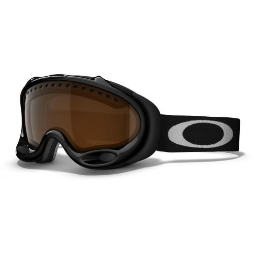 Oakley A Frame Black with white logo