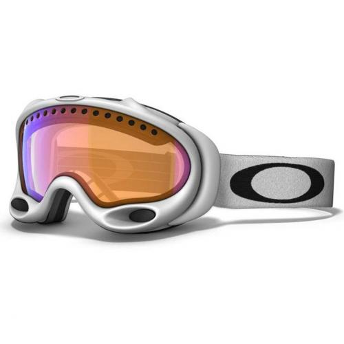 Oakley A Frame matte white Orange Shade