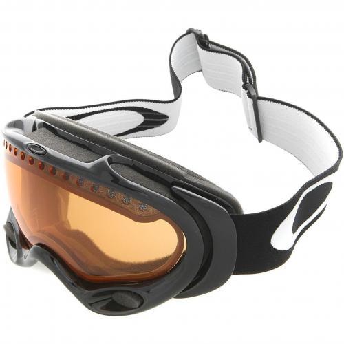 Oakley A-Frame Skibrille Jet Black-Persimmon