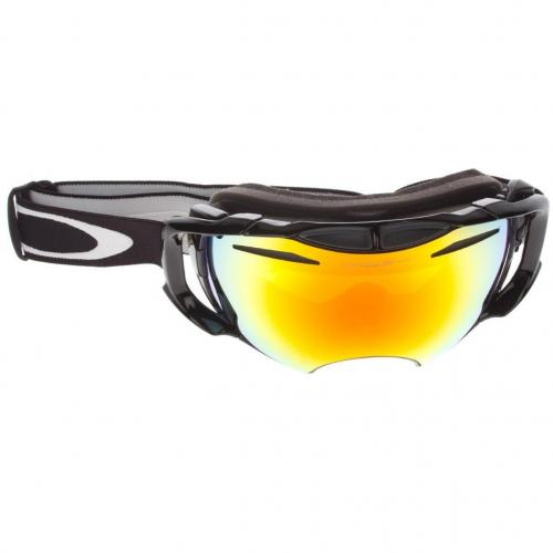 Oakley Airbrake jet black Orange Yellow Blue Shade