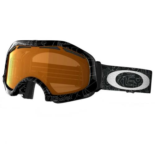 Oakley Catapult silver factory text