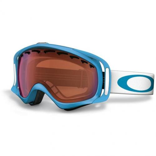 Oakley Crowbar 11 blue frame and logo