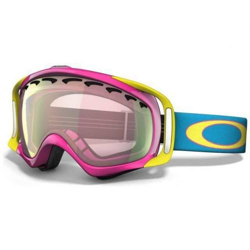 Oakley Crowbar 11 pink frame, yellow logo