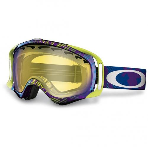 Oakley Crowbar net camo purple