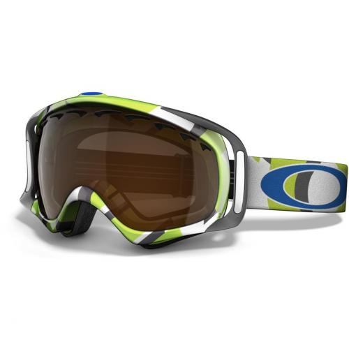 Oakley Crowbar white with blue logo