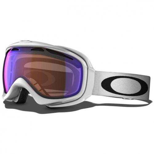 Oakley Elevate polished white Violet Blue Shade