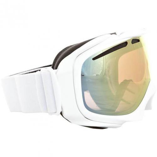 Oakley ELEVATE Skibrille polished white/ VR50 pink iridium