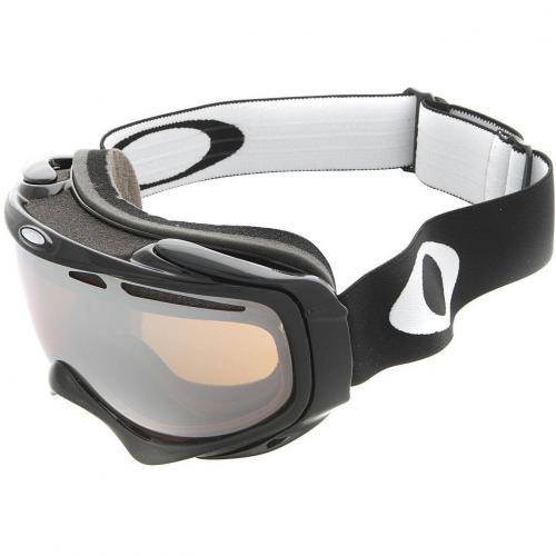 Oakley Elevate Snow Skibrille Jet Black-Black Iridium