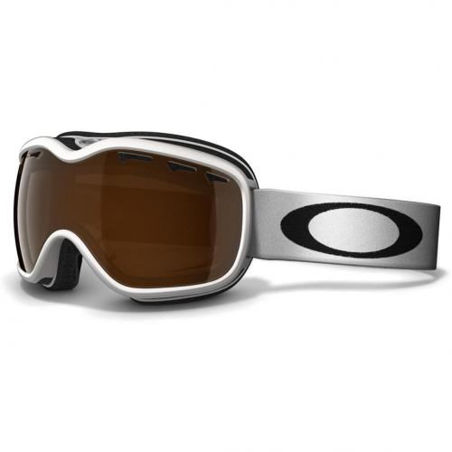 Oakley Stockholm pearl white Women Brown Shade