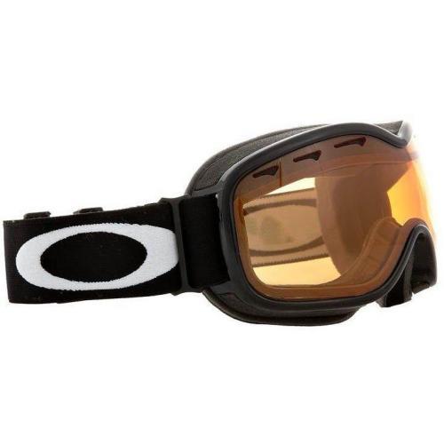 Oakley STOCKHOLM Skibrille jet black/persimmon