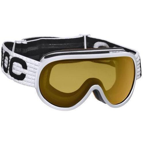 POC Skibrille Weiß