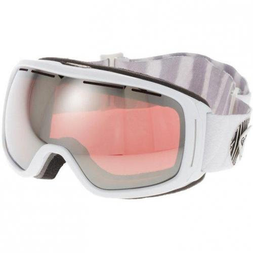 Roxy ROCKFERRY Skibrille weiß/pink chrome