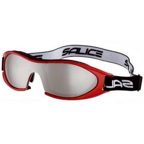 Salice Skibrille 834 RED/SMKCRX