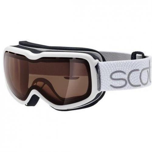 Scott Aura/Aura Solid Skibrille Damen Weiß