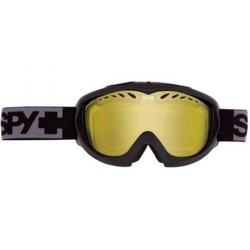 Spy Skibrille TARGA II BLACK - YELLOW W/ SILVER MIRROR