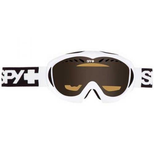 Spy Skibrille TARGA II WHITE - PERSIMMON