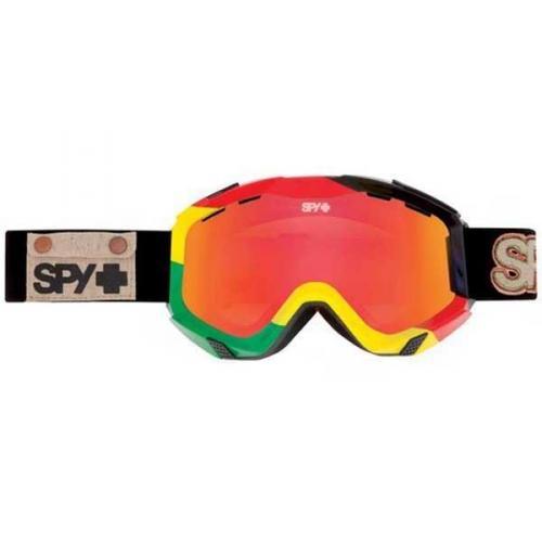 Spy Skibrille ZED UNITE - BRONZE W/ RED SPECTRA