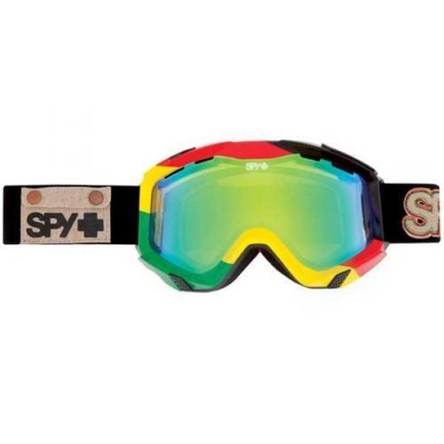 Spy Skibrille ZED UNITE - YELLOW W/ GREEN SPECTRA