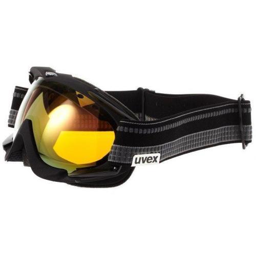 Uvex APACHE PRO Skibrille schwarz