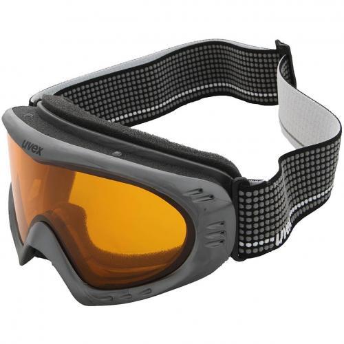 Uvex Cevron Skibrille Anthracite