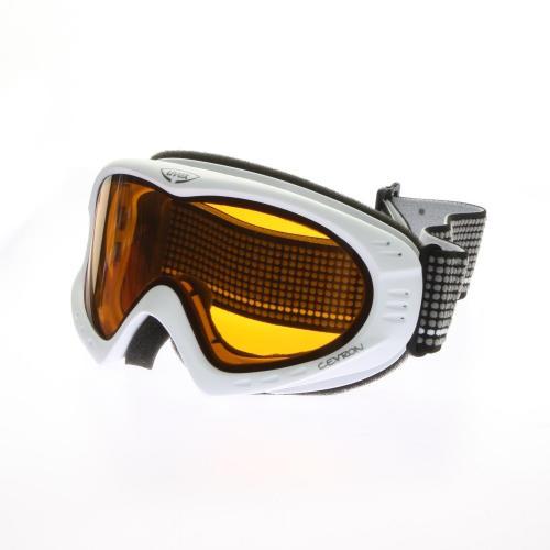 Uvex Cevron Skibrille Polarwhite Mat
