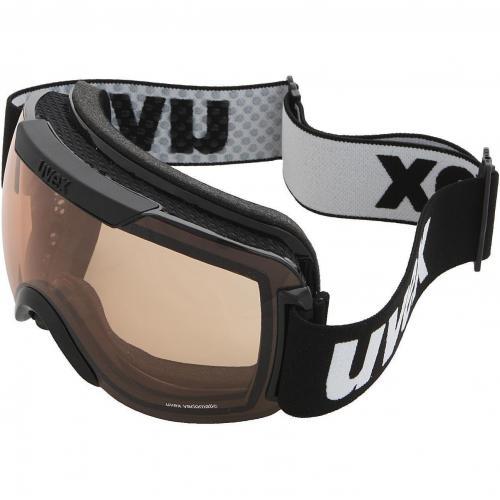 Uvex Downhill 2000 Vario Skibrille Black Variomatic Brown-Clear