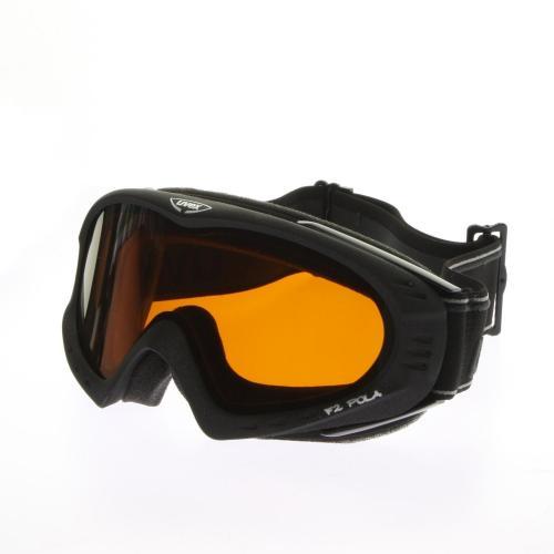 Uvex F 2 Pola Skibrille Black Metallic Mat