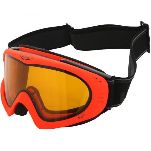 Uvex F 2 Skibrille Neon Orange