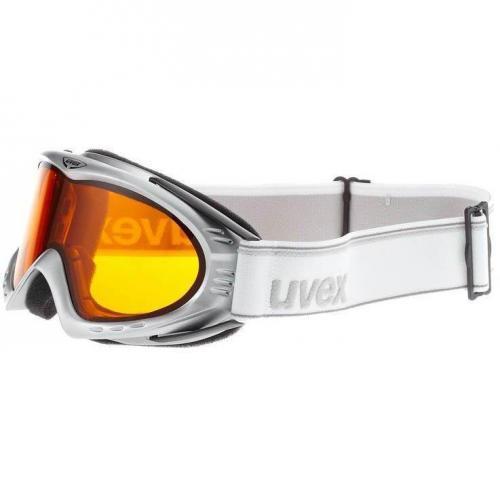 Uvex F2 Skibrille silver metallic