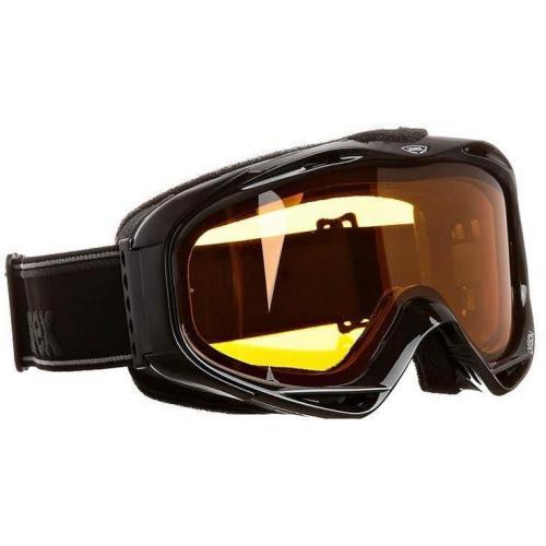 Uvex UVISION Skibrille schwarz